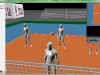 3D Visualization - volleyball - AGH IMiR - view above net